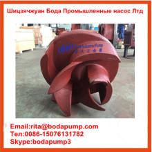 Bomba de chorume Bomba de espuma intercambiável Ahf Impeller