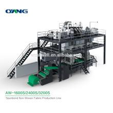 Automatic Spunbond Non Woven Fabric Making Machine, Custom Non Woven Fabric Production Line