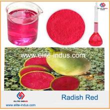 Color rojo del rábano colorante de la comida natural
