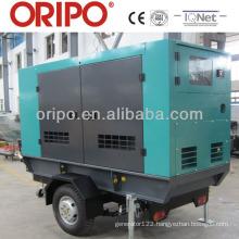 Enclosed trailer 110kva standby power by 6BT5.9-G2 Cummins engine