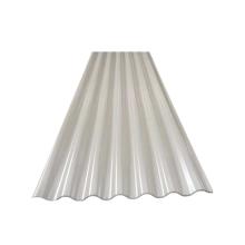 Tuile de toit en métal ondulé