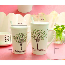 Tasse en céramique à grande capacité en porcelaine