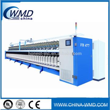 hilo de tela hilo de algodón orgánico hilo plano hilado textil máquina de algodón marco itinerante