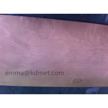 Hoja de Wcu / hoja de tungsteno de cobre / hoja del fregadero de calor / placa de cobre del tungsteno