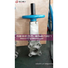 Lug Type As2129 Table D Válvula de guilhotina