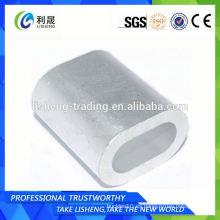 Mangas ovaladas de acero para cable Din3093 tipo