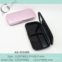 Charming Rectangular Compact Powder Case With Mirror AG-ES1080, AGPM Cosmetic Packaging , Custom colors/Logo