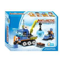 Boutique Building Toy Toy-Antarctic Expedição científica 05 com 3PC pessoal