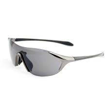 One Piece Lens Zinc Alloy Fashion Sport Sunglasses (14311)