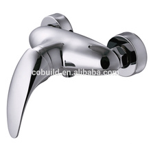 KTM-10 newest bathtub accessories face mounted shower faucet, toilet bath solid brass chrome plated face mounted shower faucet
