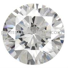 Forme de diamant en pierre décorative promotionnelle de qualité supérieure en cristal de verre