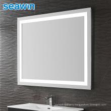 Seawin Bathroom Electronic Switch Wall Mounted Led Light Mirror Backlit