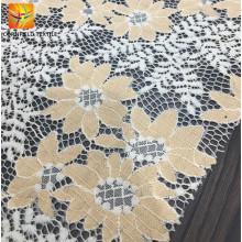 Neueste Produkte 100% Polyester Stickerei Spitzenstoff