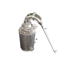 Caldeira e destilação de aço inoxidável