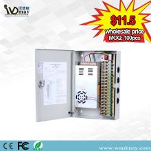 9chs DC12V10A auto fusível caixa de alimentação