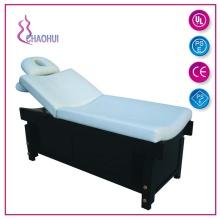 Деревянная косметическая кровать из ПВХ с подушкой для дыхательного отверстия