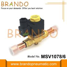 1078/6 3/4 '' ODF Паяльный электромагнитный клапан типа Castel