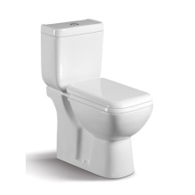 040A Two Piece Ceramic Toilet with Slow Down Closet Cover