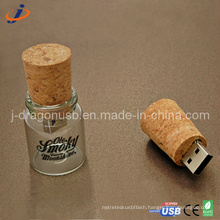 The Glass Jar Shape USB Flash Drive (JW152)