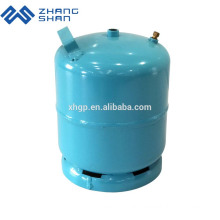 Portable Wholesale Outdoor Camping 3kg Empty LPG Gas Cylinder