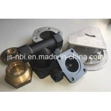 Diferentes tipos de piezas de mecanizado