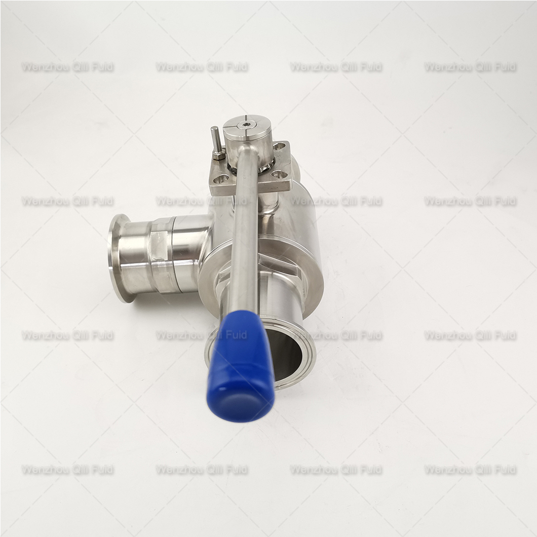 Cutstom tee type ball valve (10)
