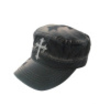 Capa militar lavada com logotipo (MT15)