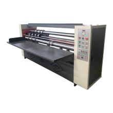 High efficient single face corrugated carton box  paper sheet thin blade slitter cutter machine
