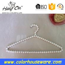 Lujo perla perchas para ropa