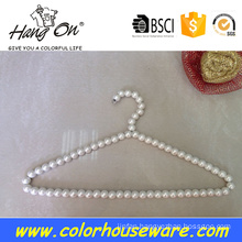 Fancy pearl hangers for clothes
