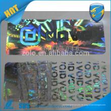 Authentischer kundenspezifischer holographischer Hologrammaufkleber / Bildhologramm-Dichtungsaufkleber