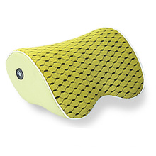 Vibrating Neck Massage Pillow with Rechargeable Lithium Battery and Memory Foam