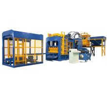 Brique automatique de laitier de scories de QTF10-15 faisant la chaîne de production de machine à vendre
