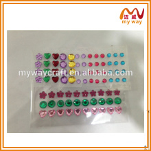 Different patterns of acrylic drilling sticker, (design will vary), hot china products wholesale