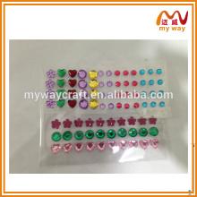 Diferentes padrões de adesivo de perfuração acrílica (o design variará), produtos quentes da China por atacado