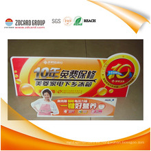 Placa de aviso del PVC de encargo de la fábrica