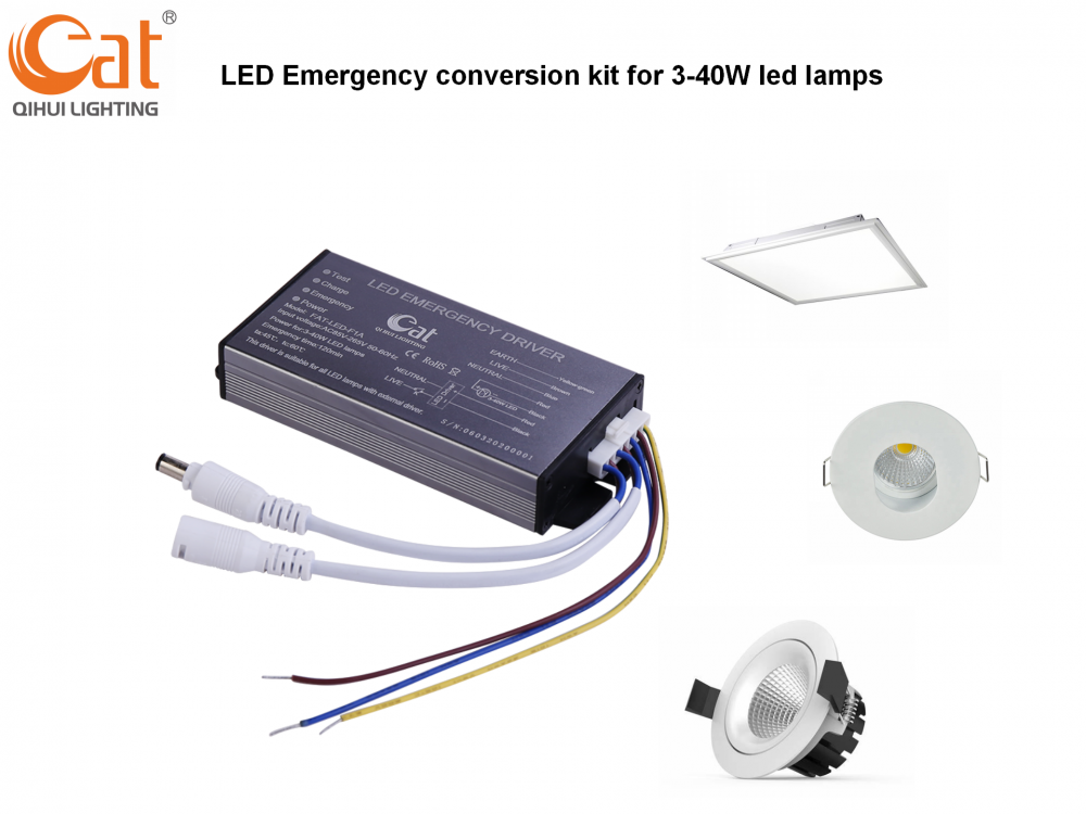 Lithium Ion Battery Backup For Led Lamps