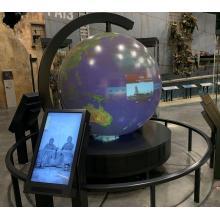 Светодиодный экран P5 для помещений диаметром 2,2 м