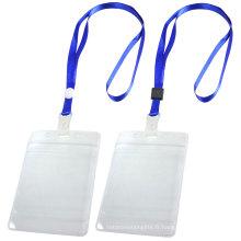 Longe imprimée en nylon de support de badge d'identification de haute qualité adaptée au prix usine de Chine