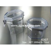 300ml 400ml 750ml 1000ml Mask can cosmetic jar seal