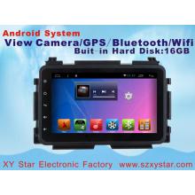 Android Sistema de DVD de carro de navegação GPS para Honda Xrv 10,1 polegadas com Bluetooth / TV