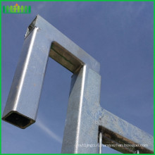 Оцинкованный временный забор (завод) iso 9001 14001 временный забор для Канады