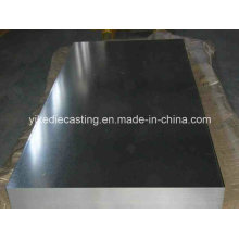 Material de construcción galvanizado de la placa de la hoja de acero de Gi