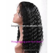 Menschliches blondes Haar der neuen Art 2013 für schwarze Frauenperücken