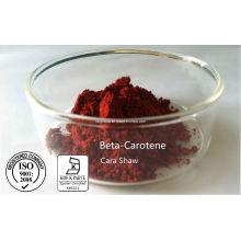 Caroteno de beta-caroteno 1% 10% 30% 100% Min. Por UV