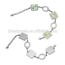 Decoração DIY blank Sublimation Bracelet