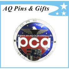 Emblema caliente de la insignia del metal con el Pin de Cloisonne de la imitación (insignia-039)