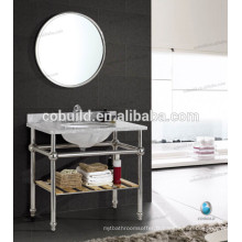 K-7001A New Design Chrome Color meuble de salle de bain avec miroir
