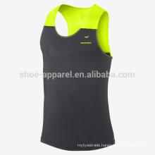 2014 100%polyeater mens running tank top
