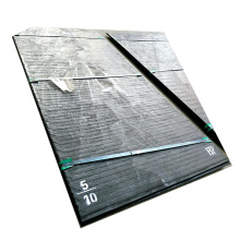 Abriebfeste Stahlplatte